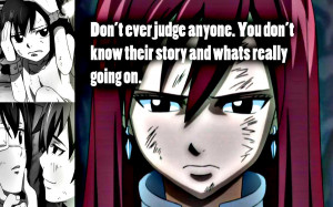 Fairy Tail Erza Scarlet Quotes