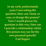 Carl Rogers - Unconditional Positive Regard