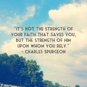 Short Religious Quotes About Strength