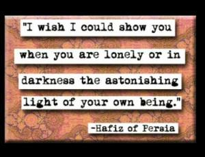 Love Hafiz quotes