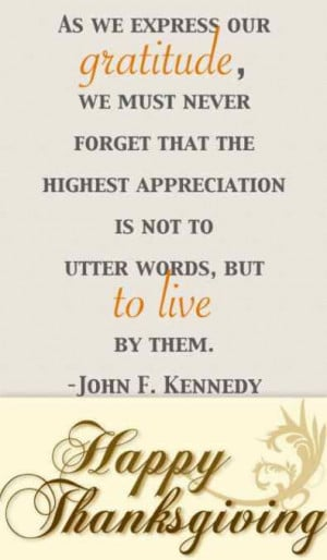 very Happy Thanksgiving, Quotes, Pictures, Wishes, John F Kennedy ...