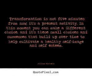 Quotes Transformation ~ Quote about success - ?transformation is not ...