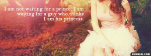 His Princess Profile Facebook Covers