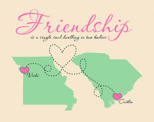 friendship quotes about distance between friends between friendship ...