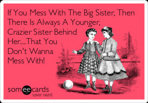 funny little sister and big brother quotes