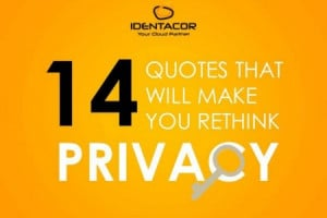 14 Quotes That Will Make You Rethink Privacy Infographic