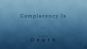 Complacency At Work Complacency