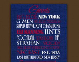 New York Giants: Ready to Hang Stan dout ...
