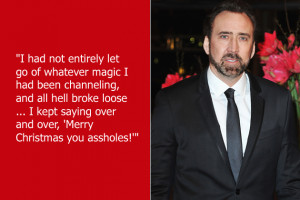 Nicolas Cage accidentally brought the magical forces he created to ...
