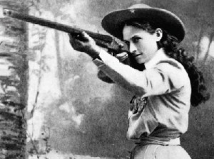 ... annie oakley was a master tomas sharpshooter biography edit annie grew