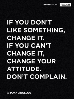Change & Attitude