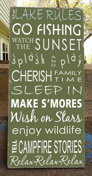 Perfect for the lake quotes