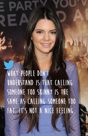 Kendall Jenner | 20 Celebrities Who Totally Owned Their Body Image ...