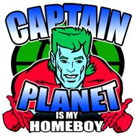 Quote T-Shirts > TV Show Quotes > Captain Planet TV Shirts > Captain ...