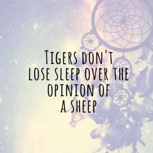 Cute quote tiger sheep galaxy dream: Stuff I D, Cute Quotes, Tigers ...