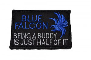 Home PATCHES Army Patches Blue Falcon 3x2 Police Military Morale Funny ...