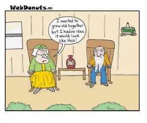 Growing Old Cartoon