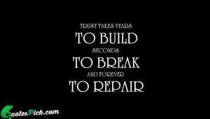 Interesting quotes on trust