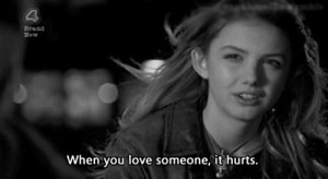hurts, love, quote, sad