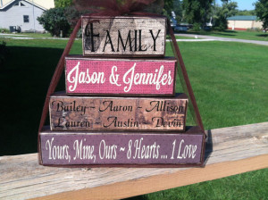 ... family parents kids special saying housewarming blended family wedding