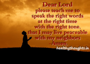special thoughts and prayer quotes