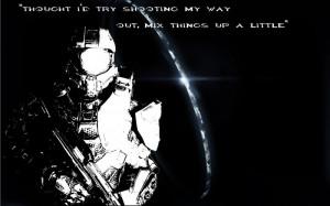 HD Master Chief Quote Wallpaper