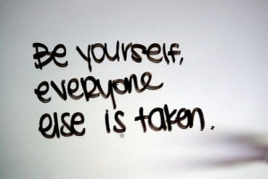 Be yourself! - be-yourself Photo
