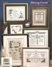 Lifetime of Memories Cross Stitch Sampler Patterns Religious Sayings
