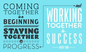 Great quote for teams and couples