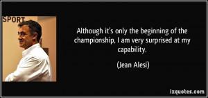 More Jean Alesi Quotes