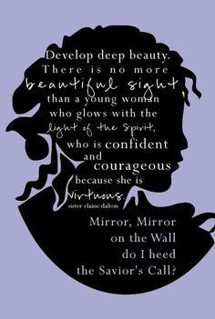 mirror mirror on the wall, do i hear the savior's call More