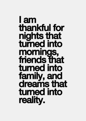 Being Thankful For Family Quotes