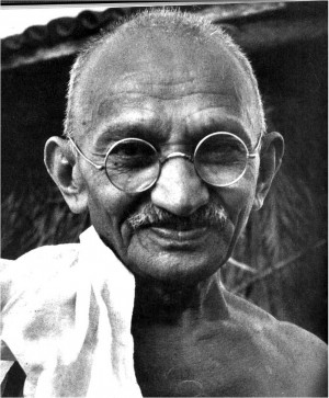 "Gandhi's Art: Using Non-Violence to Transform ""Evil"""