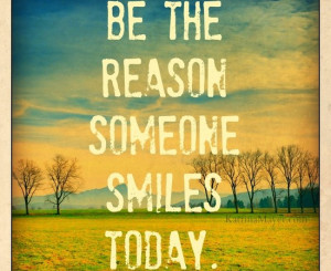 If you can make someone smile, you've got them on your side....