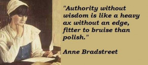 Anne bradstreet famous quotes 2