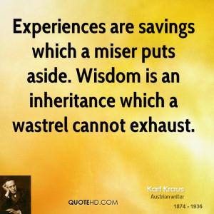Karl Kraus Wisdom Quotes