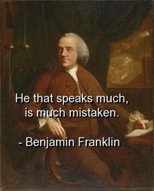 Benjamin franklin, quotes, sayings, wisdom, brainy quote