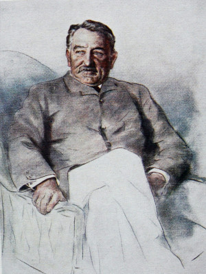 Cecil Rhodes (Sketch by Mortimer Menpes )