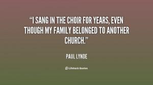 Choir Quotes