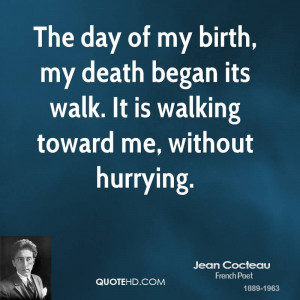 Jean Cocteau Death Quotes