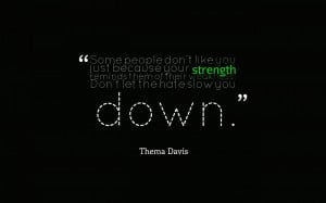 Download Thema Davis quote wallpaper