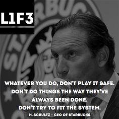 quote # starbucks # schultz more life quotes quotes starbucks dem ...
