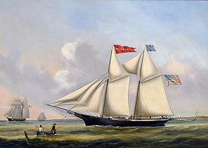 Joseph B. Smith, Schooner AURELIA P. HOWE, ca. 1850s.