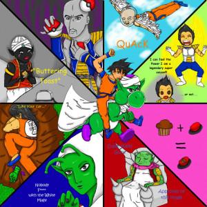 Dragon Ball Z Abridged by KylaVegeta