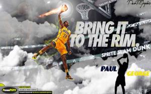 Paul George Sprite Slam Dunk,