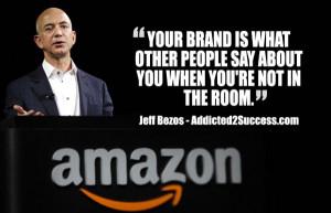 jeff bezos branding quote