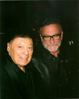 Marty Allen and Robin Williams