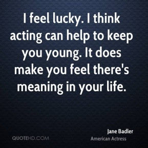 Jane Badler Top Quotes