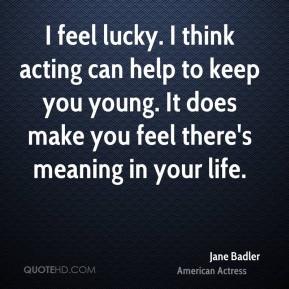 Jane Badler Top Quotes