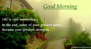 Motivational Good Morning Quotes and Sayings with Greetings Images